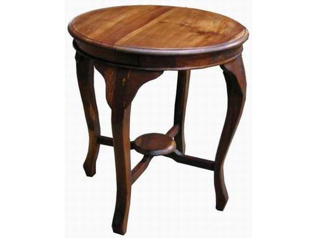 Mesa teca peque a batawia campoloco muebles y decoraci n - Mesas pequenas ...