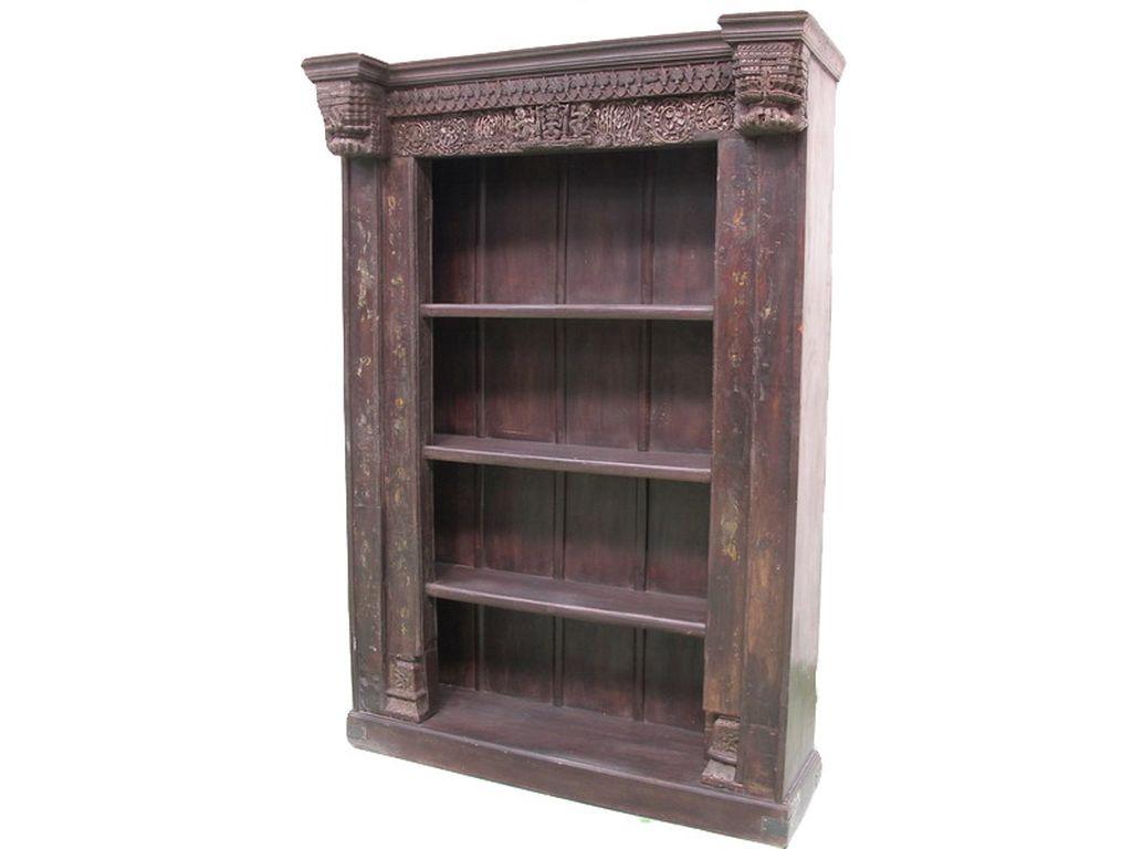 Libreria de palisandro antigua 4 b campoloco muebles y for Palisandro muebles