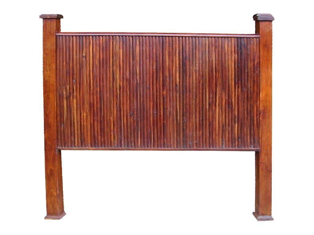 Cabecero palisandro 145 cm barras campoloco muebles y for Palisandro muebles