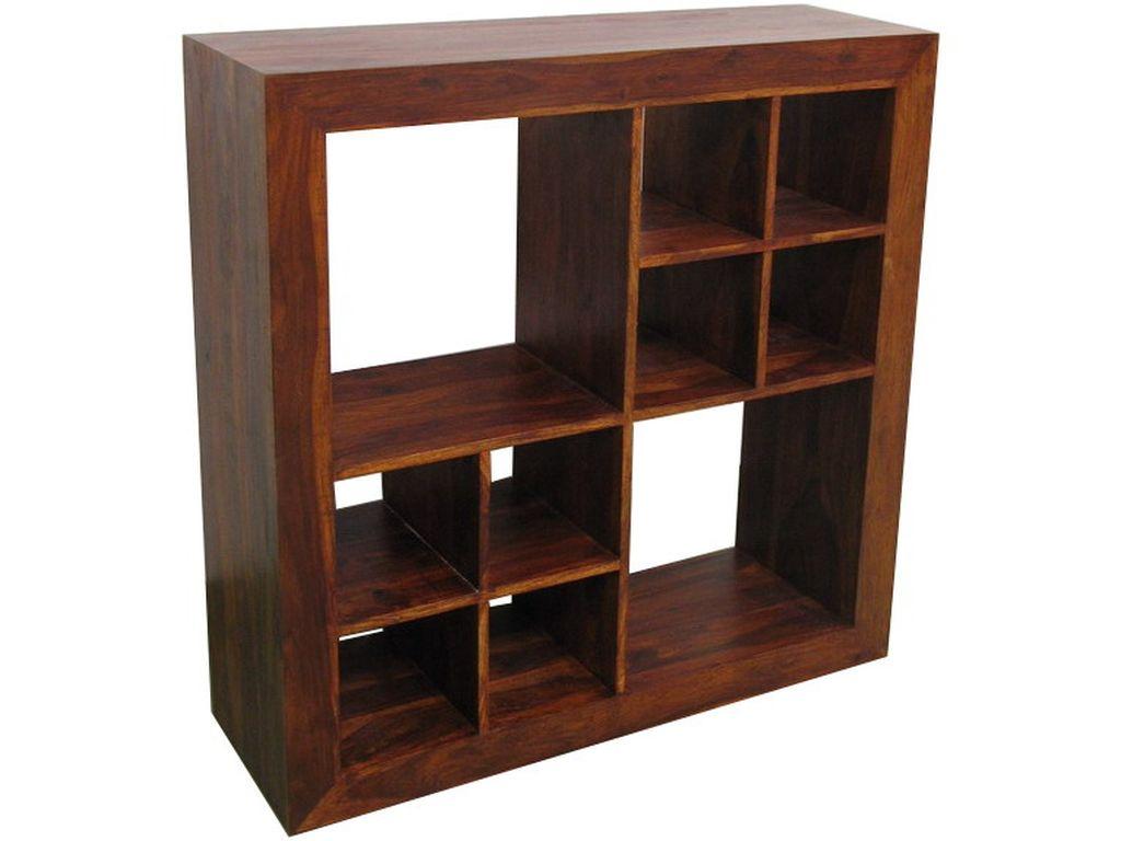 Libreria de palisandro 8 2 h cubos campoloco muebles y for Palisandro muebles