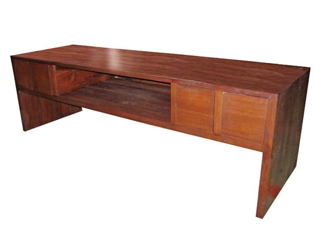 Mueble tv teca campoloco muebles y decoraci n - Muebles de teca ...