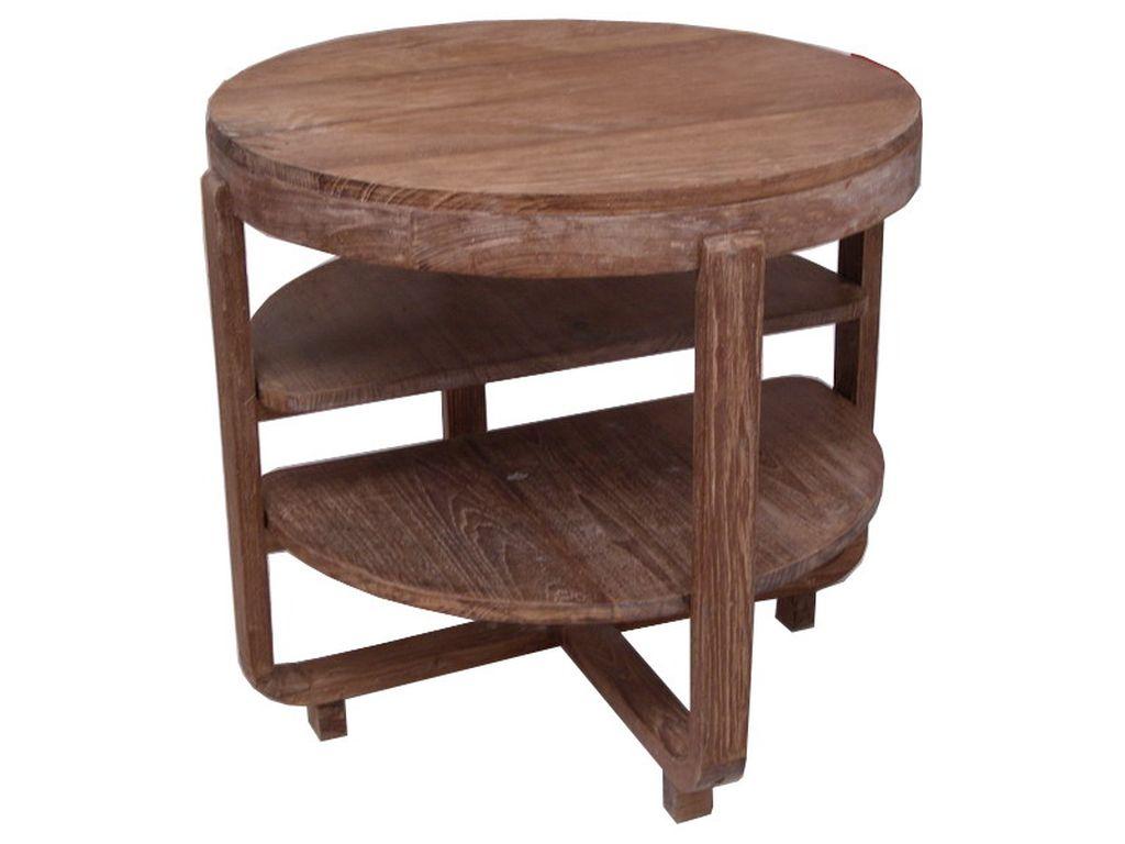 Mesa de teca antigua redonda campoloco muebles y decoraci n for Muebles de teca interior