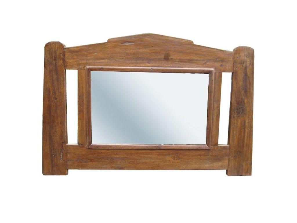 Espejo de teca antiguo campoloco muebles y decoraci n for Muebles de teca interior