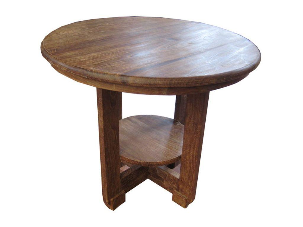 Mesa de cafe de teca antigua campoloco muebles y decoraci n - Mesa de teca ...
