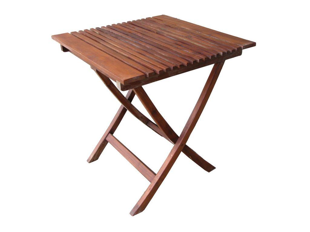 Mesa de teca plegable mod sunduk campoloco muebles y - Mesa de teca ...