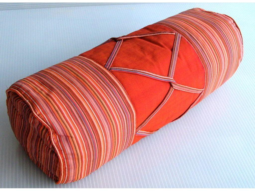 Cojin de tubo naranja Campoloco Muebles y Decoración