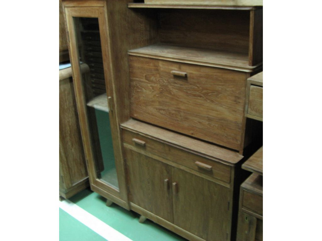 Mueble despacho antiguo campoloco muebles y decoraci n for Mueble zapatero antiguo