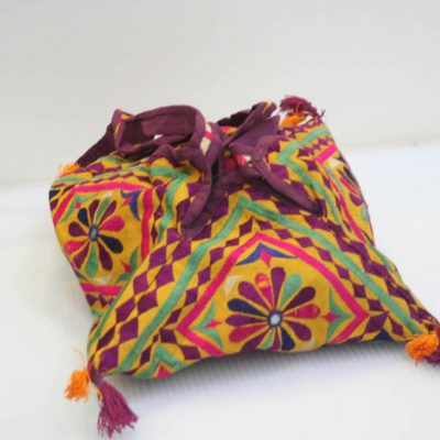 Bolso Rajasthan mix. colores