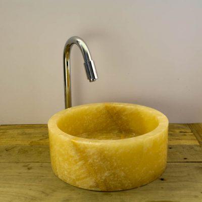 lavabo piedra natural onix
