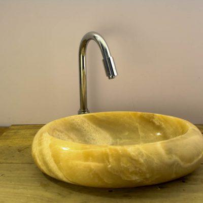 lavabo piedra onix