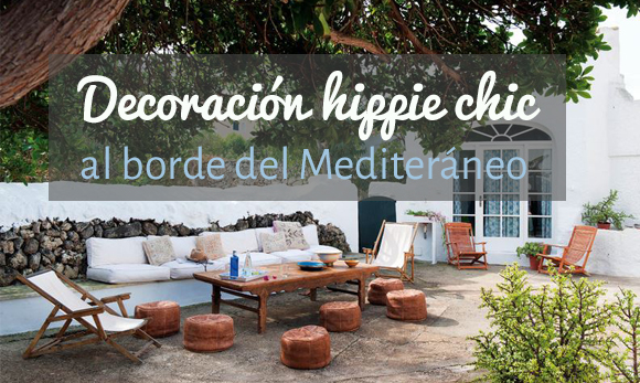 Decoraci n hippie chic en casa de rsula mascar for Muebles hippies