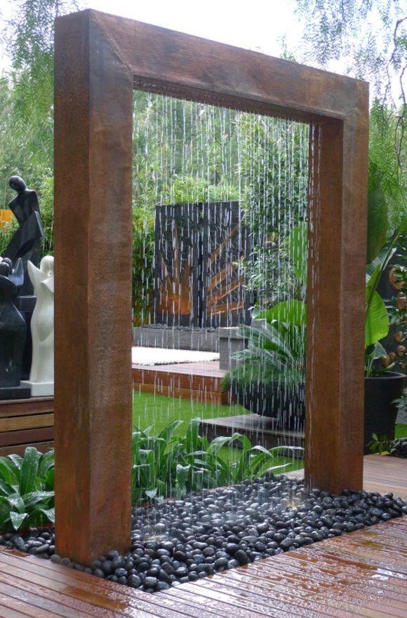 Fuentes de piedra campoloco muebles y for Fuentes de jardin modernas