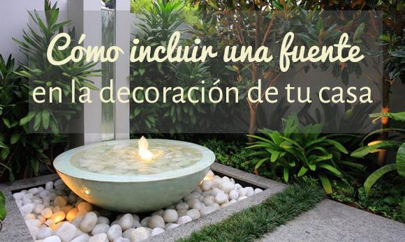 Fuentes de piedra campoloco muebles y decoraci n - Fuentes exteriores para jardin ...