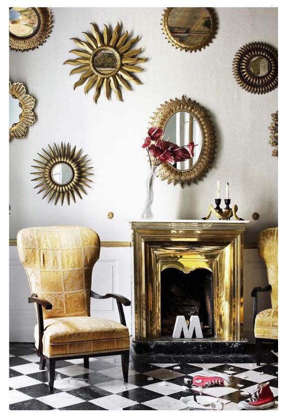 Espejos y decoraci n 6 ideas geniales campoloco muebles for Espejos circulares pequenos