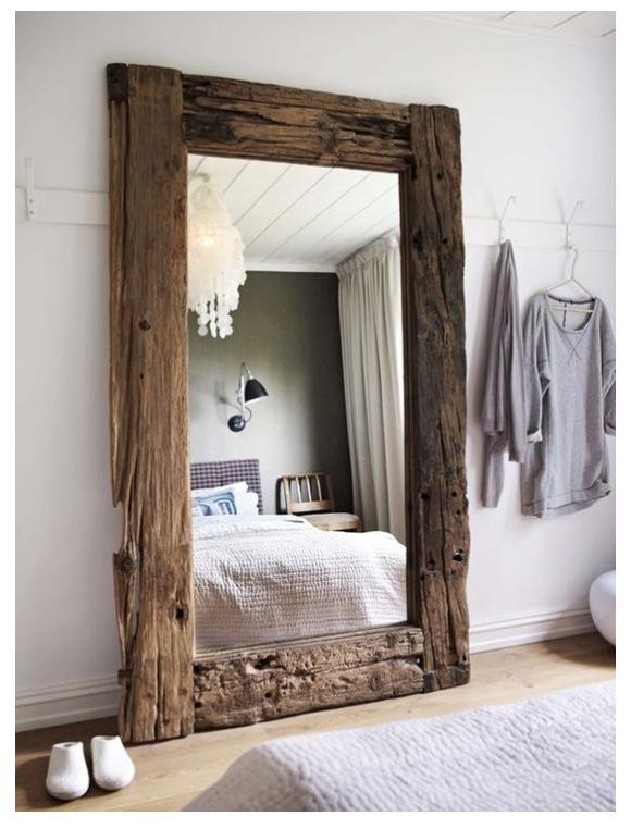 Espejos y decoraci n 6 ideas geniales campoloco muebles for Espejo horizontal salon
