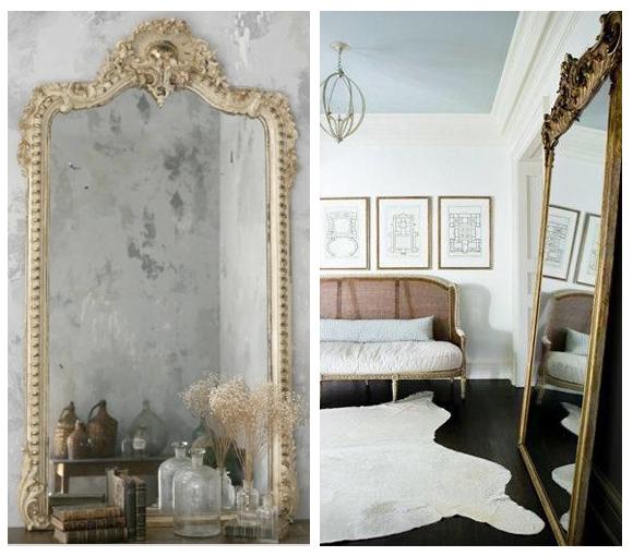 Espejos De Decoracion Antiguos ~ Espejos antiguos da brillo a tu casa  Campoloco Muebles y