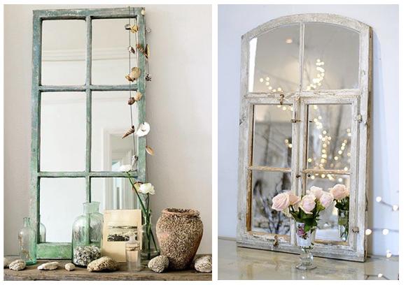Espejos antiguos da brillo a tu casa campoloco muebles for Decoracion con puertas antiguas