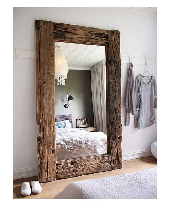 Espejos antiguos da brillo a tu casa campoloco muebles for Espejos de pared madera