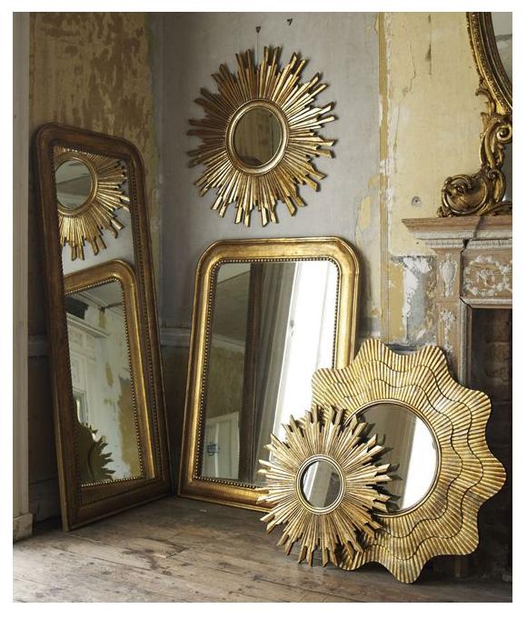 Espejos antiguos da brillo a tu casa campoloco muebles for Como hacer espejos vintage