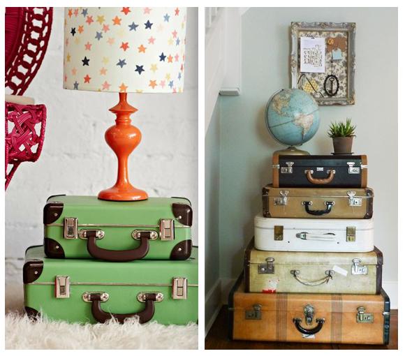 decoraci n vintage maletas antiguas campoloco muebles y