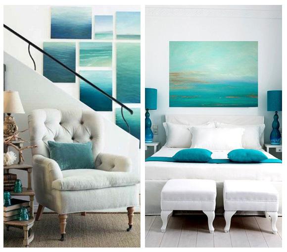 decoracion apartamento playa