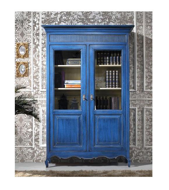 Decora con vitrinas y vitrinas antiguas campoloco - Como pintar puertas en blanco ...