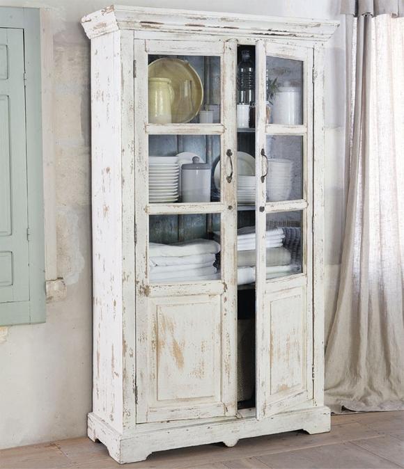 Decora con vitrinas y vitrinas antiguas campoloco - Vitrinas blancas baratas ...