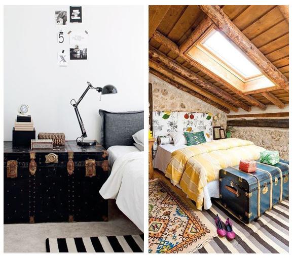 Ba les antiguos para decorar tu casa campoloco muebles y - Baules para jardin ...