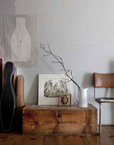 Ba les antiguos para decorar tu casa campoloco muebles y - Baules de madera baratos ...