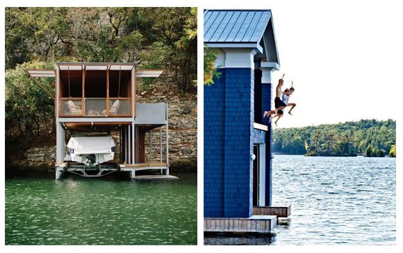 casa en el lago