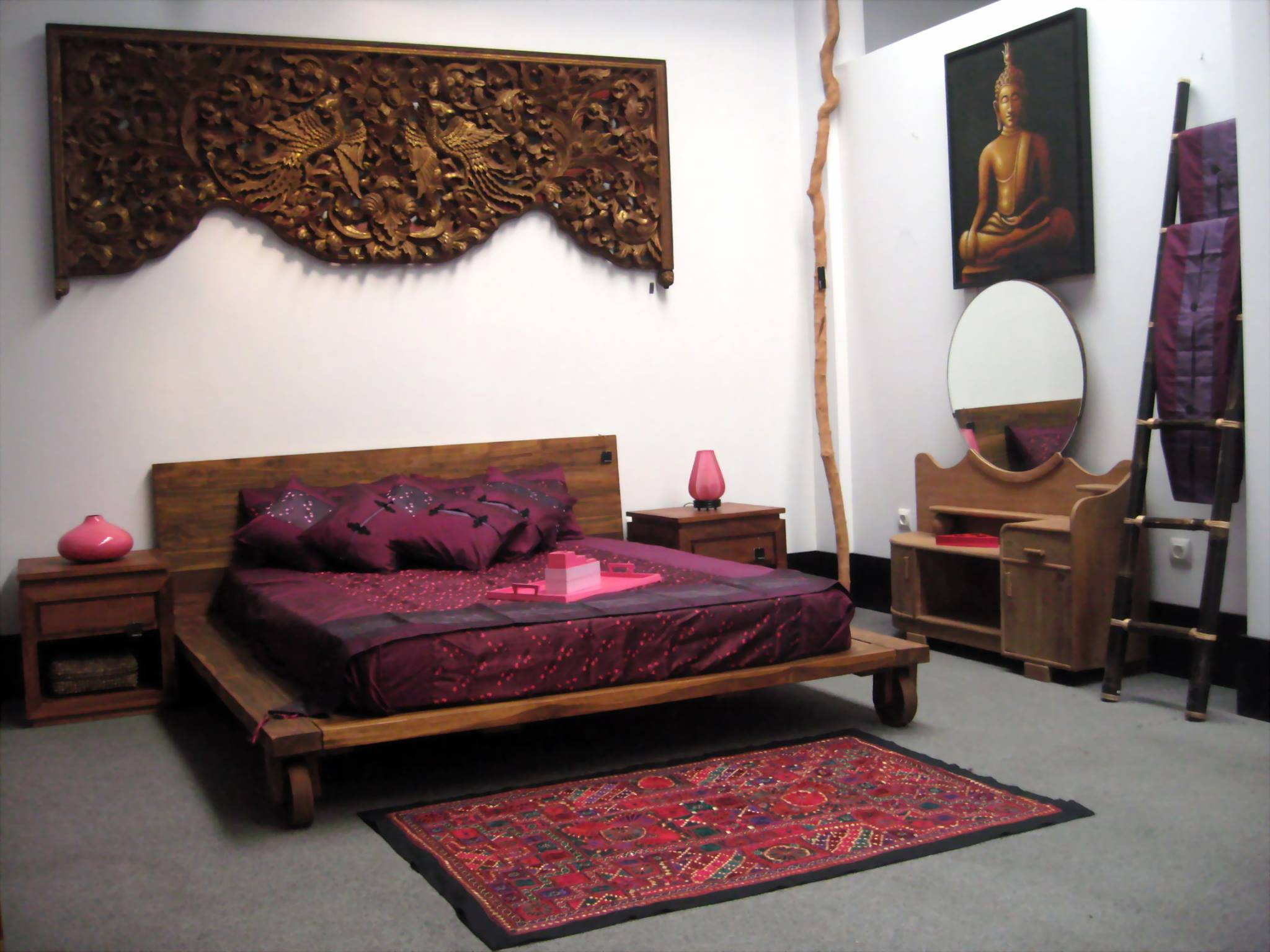 cama madera reciclada