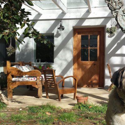 Abrimos las puertas antiguas de nuestra casa
