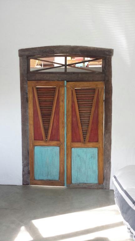 puerta antigua dos hojas