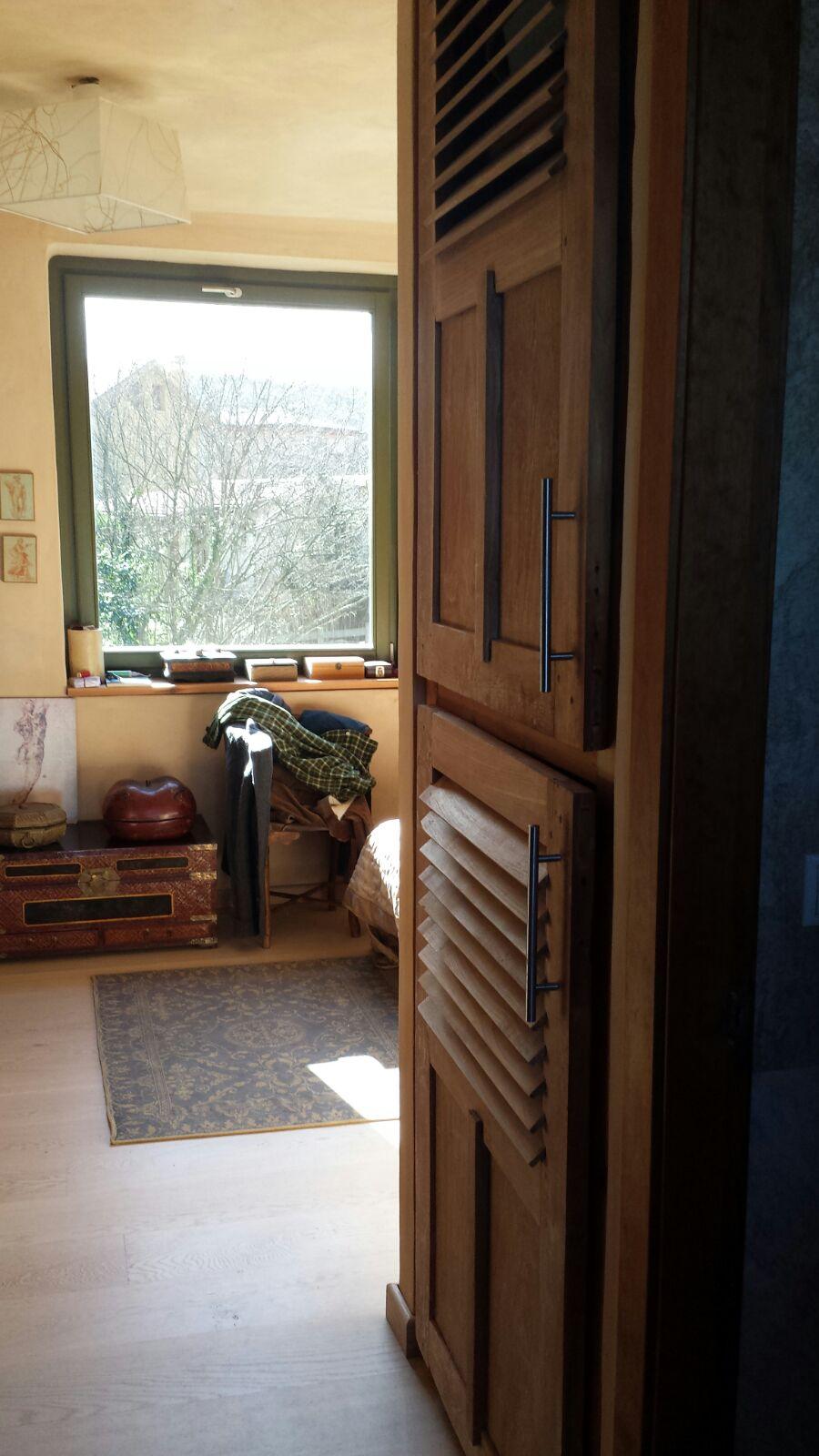 Abrimos las puertas antiguas de nuestra casa campoloco for Decoracion con puertas antiguas
