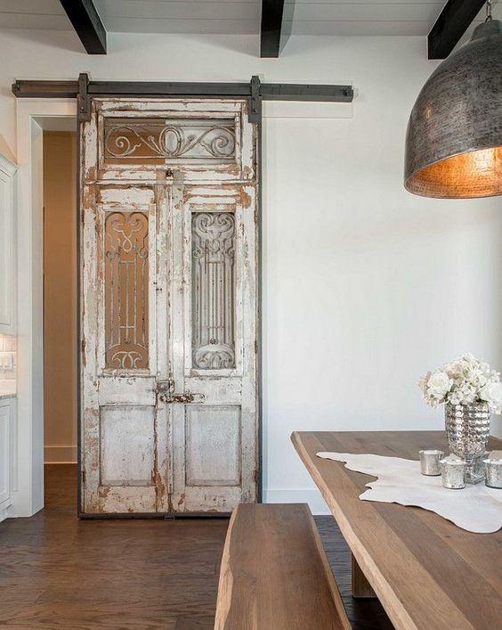 Abrimos las puertas antiguas de nuestra casa campoloco for Puertas viejas